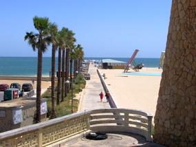 Foto: Start der Wanderung am Praia da Rocha