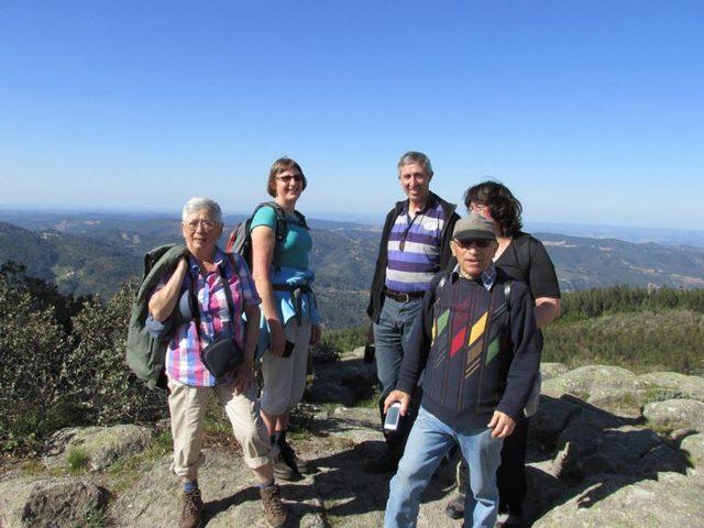 Wanderung auf den Picota, der Gipfel