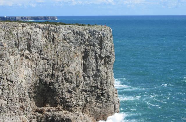Foto: Steilklippe am Cabo de São Vicente