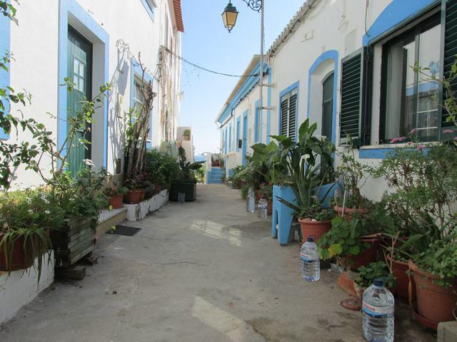 Ferragudo eine der Sehenswürdigkeiten der Algarve
