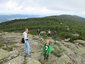 Foto Auf dem Gipfel vom Picota