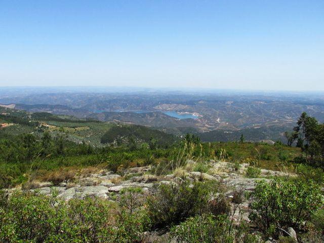 Wanderung auf den Picota, Aussicht vom Berg