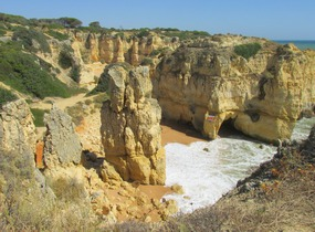 Foto: Beeindruckende Natur an der Südküste der Algarve