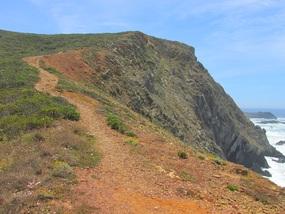 Foto: Letzter steiler Aufstieg bei diesem speziellen Wanderweg