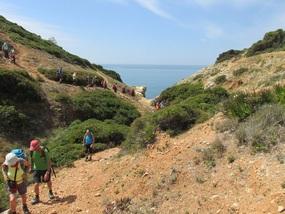 Foto: Wanderwoche Algarve, hier auf dem Weg nach Ferragudo