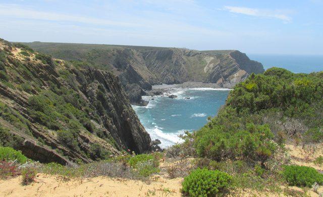 Algarve-Wanderreisen- Natur bei Aljezur