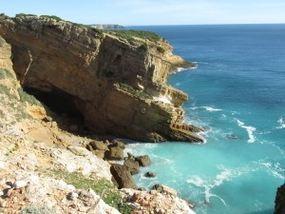 Foto-während der Wanderung von Sagres nach Figueira