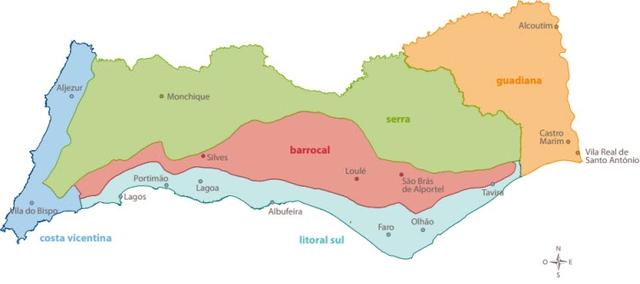Algarve-die-südlichste-Region-Portugals-Algarve-Gebiete