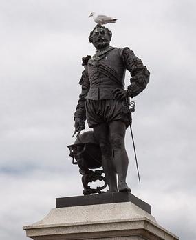 Foto: Statue von Sir Francis Drake in Lagos