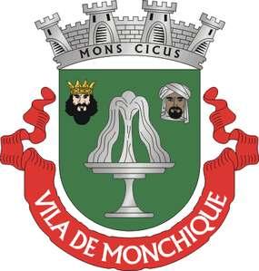 Foto: Das Wappen von Monchique