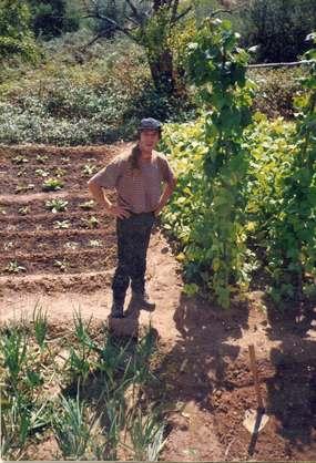 In Portugal an der Algarve als Landwirt