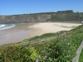 Der Strand von Süd nach Nord gesehen-2