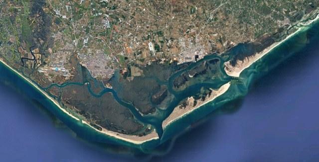 Portugal-Algarve-Faro-Ria-Formosa