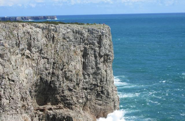 Foto: Felsen am Cabo de São Vicente in Sagres