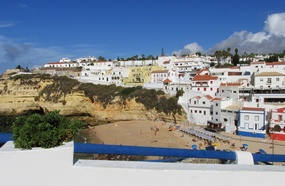 Portugal-Algarve-Sehenswürdigkeiten-Carvoeiro