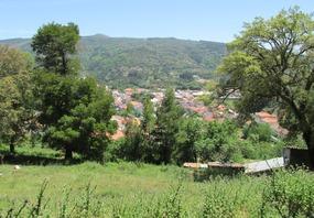 Foto: Aussicht vom Kloster über Monchique