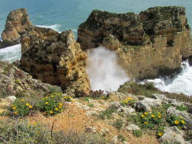 Foto: Die Ponta da Piedade eine Sehenswürdigkeit der Algarve
