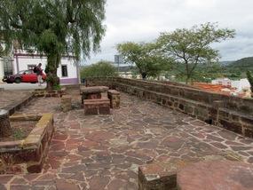 Foto: Historischer Platz nahe der Burg