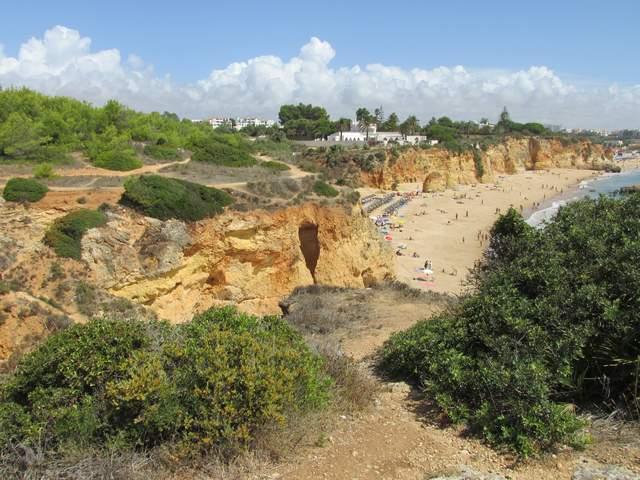 Foto: Algarve Strand Praia de Alemão bei Portimão