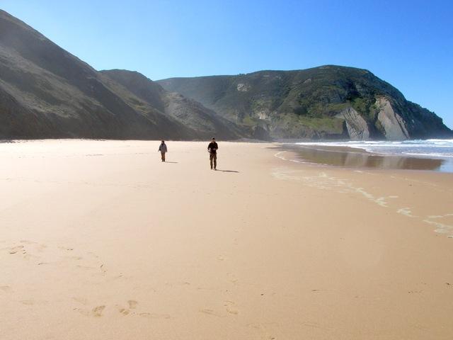 Foto: Strand Praia do Castelejo an der Westküste der Algarve