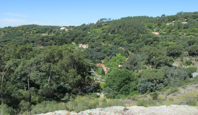 Schöne Aussicht über Caldas de Monchique