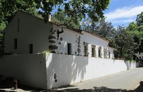 Foto: Altes Haus im ehemaligen Kurort