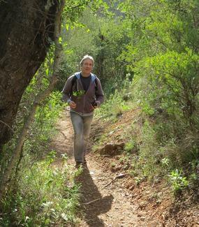 Foto: Uwe beim Wandern