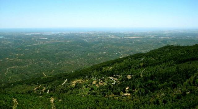 Geführte Wanderung in Monchique, Aussicht vom Picota