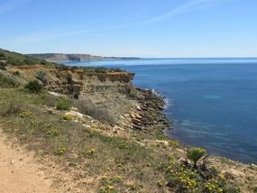 Küstenwanderung zwischen Burgau und Praia da Luz