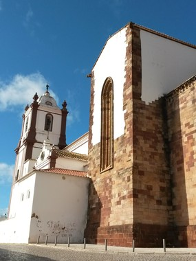 Die Kathedrale Se in Silves
