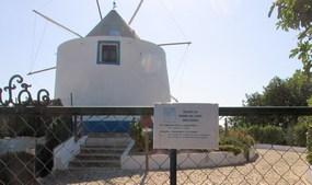 Die Windmühle bei Paderne