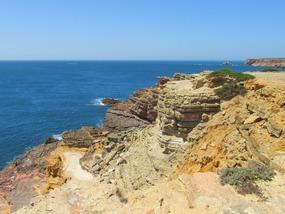 Küste beim Wandern bei Carrapateira