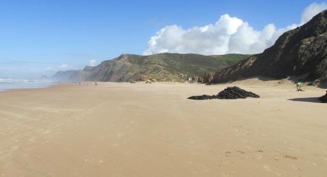 Foto: Der Strand bei Vila do Bispo, der Praia da Cordoama