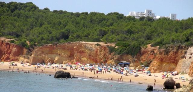 Foto Strand Portimão: Der Praia do Alemão