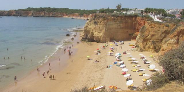 Foto Strand Portimão: Der Praia dos Careanos