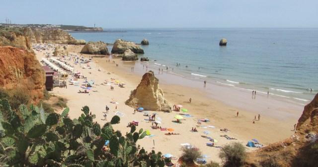Foto Strand Portimão: Der Praia dos Três Castelos