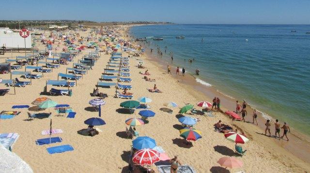 Strand Praia de Armação de Pêra