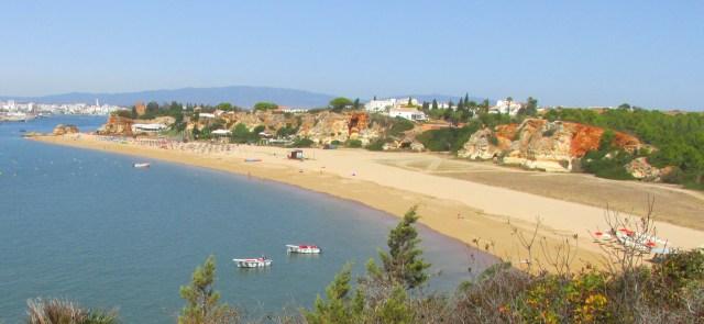 Foto: Ferragudo Strand Praia Grande