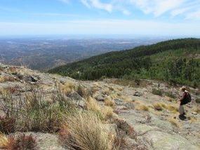 Aussicht vom Picota auf die Südküste