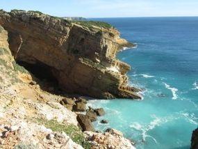 Bei der Wanderung an der Südküste von Sagres nach Figueira
