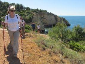 Wandern an der Südküste der Algarve von Carvoeiro nach Ferragudo