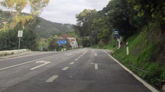 Caldas de Monchique, noch 4 km geradeaus weiter fahren