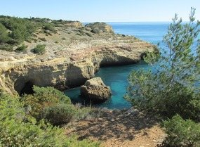 Portugal Algarve Wanderwoche bei Carvoeiro