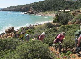 Wanderreisen oder Wanderwochen in der Algarve, Wandergruppe