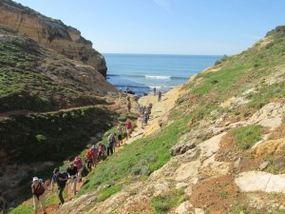 Ferragudo-Wanderung, ein schöner Rastplatz