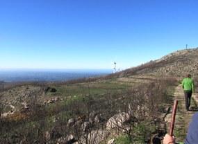 Wanderung vom Foia nach Caldas de Monchique, der Start