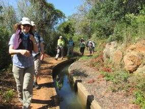 Bewässerungsgraben Algarve-Wanderung Silves