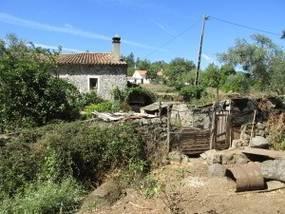 Wandern mit Uwe, Bauernhaus in Monchique