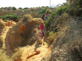 Foto von der Wanderung nach Albufeira