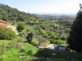 Wandern mit Uwe, Landschaft im Monchiquegebirge